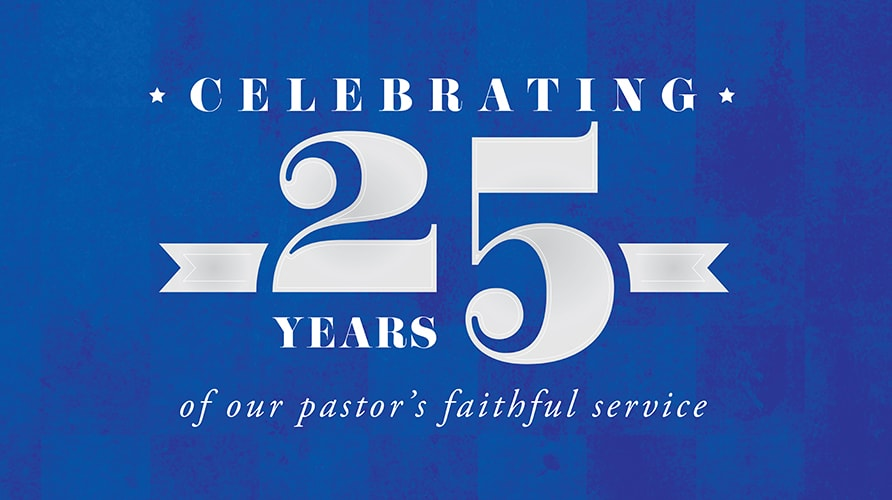 Bro. Monte's 25th Anniversary Celebration