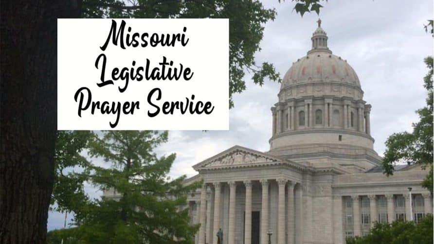 Legislative Prayer Service 2021