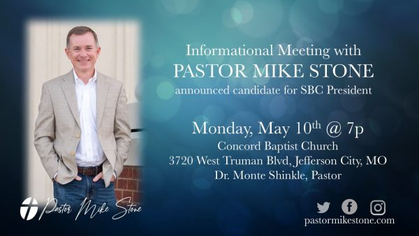 Pastor Mike Stone Image